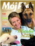 Justyna Pochanke on the cover of Moj Pies (Poland) - May 2005