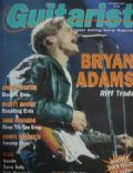 Bryan Adams on the cover of Guitarist (United Kingdom) - November 1992
