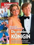 King Willem-Alexander, Princess Máxima of the Netherlands on the cover of Schweizer Illustrierte (Switzerland) - February 2013