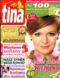 Daria Widawska on the cover of Tina (Poland) - April 2011