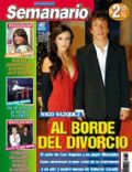 Mercedes Funes, Nicolas Vazquez on the cover of Semanario (Argentina) - August 2007