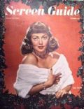 Lana Turner on the cover of Screen Guide (United States) - December 1947