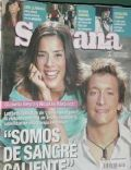 Gianella Neyra, Nicolas Vazquez on the cover of Semana (Argentina) - May 2005