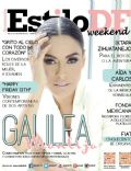 Galilea Montijo on the cover of Estilo Df (United States) - June 2014