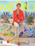 Iza Calzado on the cover of Metro (Philippines) - September 2012