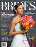 on the cover of Brides (United States) - August 2013