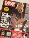 Nicole Neumann on the cover of Caras (Argentina) - March 2000