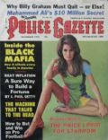Raquel Welch on the cover of The National Police Gazette (United States) - November 1974