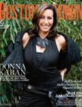 Donna Karan on the cover of Boston Common (United States) - September 2013