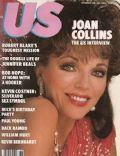 Joan Collins on the cover of Us Magazine (United States) - September 1985