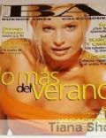 Dolores Barreiro on the cover of Buenos Aires (Argentina) - December 1996