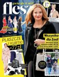 Malgorzata Socha on the cover of Flesz (Poland) - October 2013