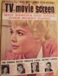 Sandra Dee on the cover of TV and Movie Screen (United States) - July 1961
