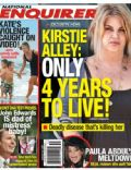 Kirstie Alley on the cover of National Enquirer (United States) - August 2009