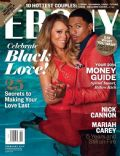 Mariah Carey, Nick Cannon on the cover of Ebony (United States) - February 2014
