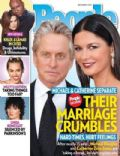 Catherine Zeta-Jones, Khloé Kardashian, Lamar Odom, Linda Ronstadt, Michael Douglas, Miley Cyrus on the cover of People (United States) - September 2013
