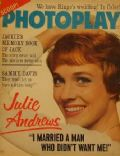 Julie Andrews on the cover of Photoplay (United States) - May 1965