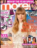 Taylor Swift on the cover of More (United Kingdom) - January 2013