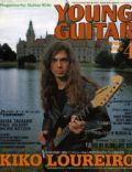 Kiko Loureiro on the cover of Young Guitar (Japan) - April 1996