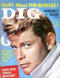 Troy Donahue on the cover of Dig (United States) - March 1964