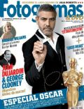 George Clooney on the cover of Fotogramas (Spain) - March 2012