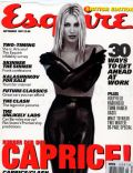 Caprice Bourret on the cover of Esquire (United Kingdom) - September 1997