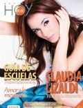 Claudia Lizaldi on the cover of Hoy Mujer (Mexico) - February 2013