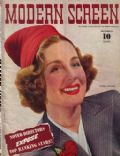 Norma Shearer on the cover of Modern Screen (United States) - December 1940