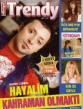 Gülben Ergen, Hayko Cepkin on the cover of Trendy (Turkey) - September 2008