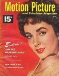 Elizabeth Taylor on the cover of Motion Picture (United States) - April 1952