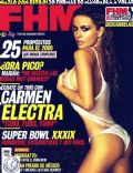 Carmen Electra on the cover of Fhm (Mexico) - January 2005