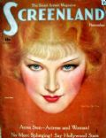 Anna Sten on the cover of Screenland (United States) - April 1934