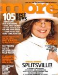 Diane Keaton on the cover of More (United States) - March 2004