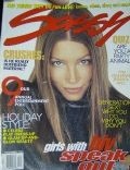 Jessica Biel on the cover of Sassy (United States) - December 1996