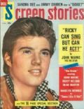 Ricky Nelson on the cover of Screen Stories (United States) - May 1959