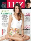 Luli Fernández on the cover of Luz (Argentina) - December 2013