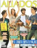 Agustín Bernasconi, Aliados, Julian Serrano, Oriana Sabatini, Pablo Martínez on the cover of Aliados (Argentina) - October 2013