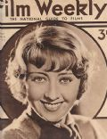 Joan Blondell on the cover of Film Weekly (United Kingdom) - June 1934