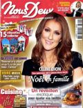 Céline Dion on the cover of Nous Deux (France) - December 2010