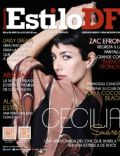 Cecilia Suárez on the cover of Estilo Df (Mexico) - June 2014