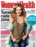 Drew Barrymore on the cover of Womens Health (Mexico) - February 2014