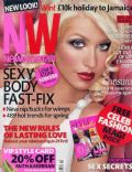 Christina Aguilera on the cover of New Woman (United Kingdom) - February 2007