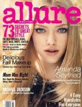 Amanda Seyfried, Norman Jean Roy on the cover of Allure (United States) - September 2009