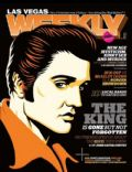 Elvis Presley on the cover of Las Vegas Weekly (United States) - January 2010