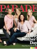 Julie Bowen, Martha Plimpton, Monica Potter, Patricia Heaton on the cover of Parade (United States) - May 2011