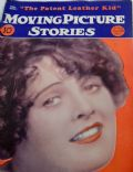 Molly O'Day on the cover of Moving Picture Stories (United States) - September 1927