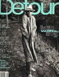 Bruce Willis on the cover of Detour (United States) - January 1996