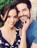 Brant Daugherty and Kimberly Hidalgo