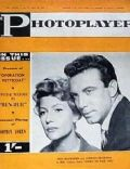 Rita Hayworth on the cover of The Photoplayer (Australia) - March 1960