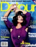 Neve Campbell on the cover of Detour (United States) - March 1998